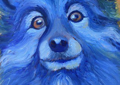 Dirk in Blue